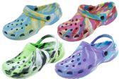 48 of Ladies Tie Dye Garden Shoes