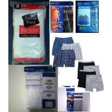 1200 of Mens Underwear Pallet Deal
