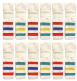 24 of Yacht & Smith Men's 30 Inch Premium Cotton King Size Extra Long Old School Tube Socks- Size 13-16