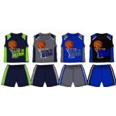 48 of SPRING BOYS CLOSE MESH SHORT SETS INFANT