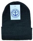 144 of Yacht & Smith Black Unisex Winter Warm Beanie Hats, Cold Resistant Winter Hat 144 Pack