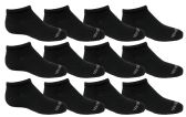 120 of Yacht & Smith Kids Unisex Low Cut No Show Loafer Socks Size 6-8 Solid Black