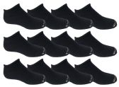 120 of Yacht & Smith Kids Unisex Low Cut No Show Loafer Socks Size 6-8 Solid Navy