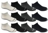 120 of Yacht & Smith Kids Unisex Low Cut No Show Loafer Socks Size 6-8 Solid Assorted