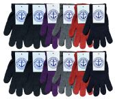 240 of Yacht & Smith Women's Warm And Stretchy Winter Magic Gloves 240 Pairs