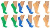 120 of Yacht & Smith Womens Cotton No Show Loafer Socks With Anti Slip Silicone Strip Assorted Pastel