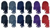 72 of Yacht & Smith Womens Warm Winter Sets 36 Pairs Of Gloves And 36 Hats